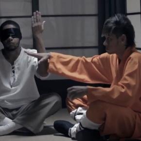 Neymar en maître de kungfu
