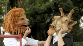 Les Amours enfantines du lion et de la girafe selon LeoCavalcanti