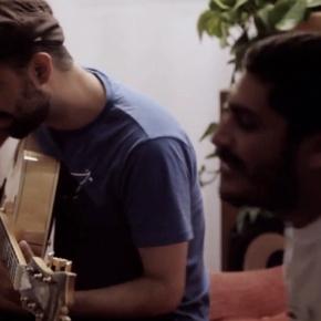Criolo et Rodrigo Campos, «Ribeirão» intime