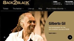 Gilberto Gil et Criolo au Back2Black deLondres