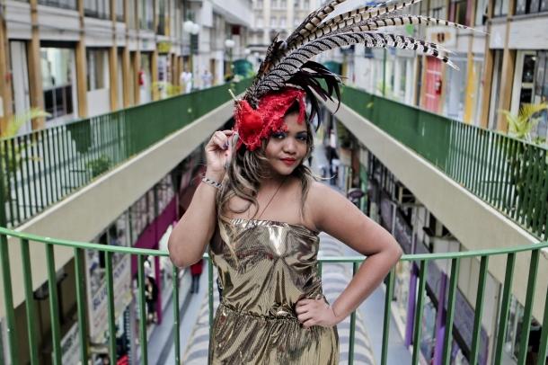Gaby à plumes