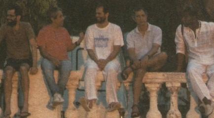 Moreno et amis balustrade