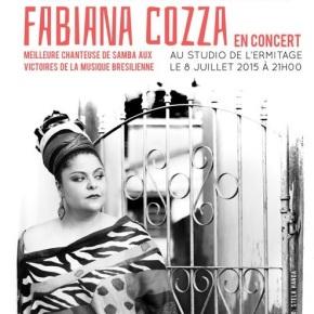 Fabiana Cozza à Paris : cours etconcert